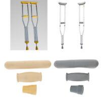 1 Set di Stampelle Kit di accessori per stampelle + Coperture per impugnatura +