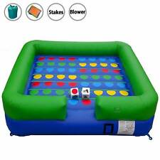 Pogo Interactive Inflatable Twister Game With Blower For Birthday Party & Event