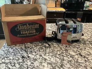 Sunbeam T-35 Radiant Control Toaster-STUNNING - 1958-1967 NEAR MINT
