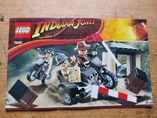 Lego Indiana Jones Motorradjagd 7620 - Anleitung/Instructions
