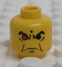 Lego Minifig Head Male with one Red Eye  - Ogel from Alpha Team - NEW