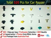 520PCS Car Trim Body Clips Kit Rivet Retainer Door Panel Bumper FITS SUBARU