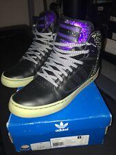 Adidas HIGH EXT Black Glow In The Dark Size 12 DROSE Nightmare B4 Xmas - Mint!!!