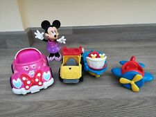 Disney Minnie Mouse Cars/Aeroplane/boat With Minnie Mouse
