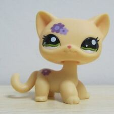 Littlest Pet Shop Collection LPS Figure Toy Super Rare Floral Cat Kitty a1
