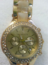 wrist watch women men's unique opportunity relog bello gold and diamonds