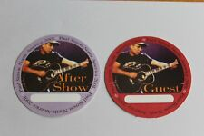 Paul Simon - 2 x Backstage Pass -  Guest & Aftershow 2001 - Free Postage -
