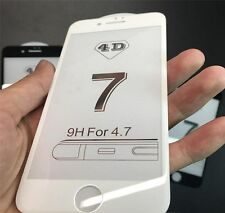 3D 4D 5D Full Curved Screen Protector 9H Tempered Glass for iPhone 7, 7 8 Plus X