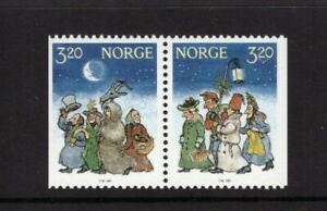 Norway MNH 1991 Christmas set mint stamps