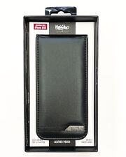 Genuine Mossimo Deluxe Leather Pouch for iPhone 6 / 6S - Black Black