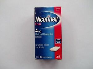NICOTINELL CHEWING GUM X 96 Pieces (Choose Strength / Flavour)