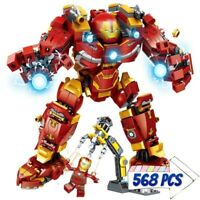 Iron Man Hulkbuster Building Blocks Superhero Model Bricks Puzzle Toy Gift Kids