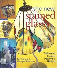 The New Stained Glass -Techniques Patterns Designs - Pat Torlen & George Shannon