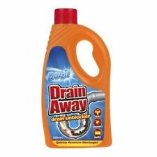 Duzzit Drain Away Drain Unblocker Liquid Formular 500ML Sink Bath Shower