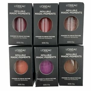 L'Oréal Paris Infallible Magic Lip Pigment Powder To Cream ~ Choose Your Color