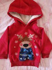 George Reindeer Toddler Christmas Jumper