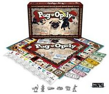 Pug-opoly Brand New Family Board Game Dog Monopoly Pugopoly - PUG OPOLY