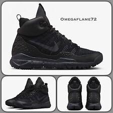 Nike ACG Lupinek Flyknit Chukka, 826077-001 UK 9, EU 44, US 10, Black, Black