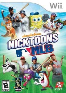 Nicktoons MLB - Nintendo  Wii Game
