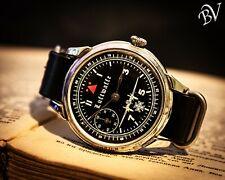 MOLNIYA pilot watch soviet vintage watch mechanical military USSR Russian Watch