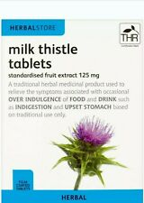 Milk Thistle Tablets 30 Tablets Indigestion Relief Saturated Fruit Herbal Store