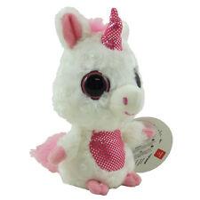 Aurora World Plush - YooHoo Friends - BLUSH the White & Pink Unicorn (5 inch)