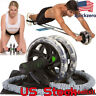 Resistance Ab Roller Wheel Pull Rope Waist Abdominal Slimming Fitness Equipment