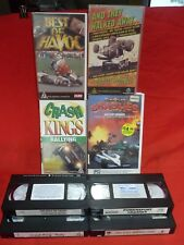 BEST OF HAVOC CRASH KINGS RALLYING CRASHES AND THEY WALKED AWAY VHS VIDEOS