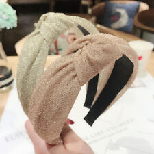 Fashion Women Girls Knot Headband Hairband Hair Accessories Tie Hair Hoop Sequin