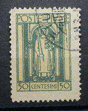 1923   Regno D' Italia 50 Centesimi  Posta di Fiume