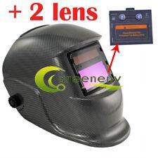 KRA pro Solar Auto Darkening Welding Helmet Arc Tig Mig Mask Grinding Hood US