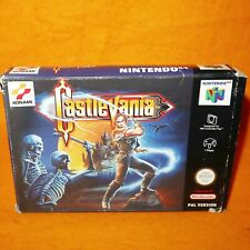 VINTAGE 1999 NINTENDO 64 N64 CASTLEVANIA CARTRIDGE VIDEO GAME PAL VERSION BOXED