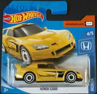 Honda S2000 Hot Wheels 2020 Case H Honda 4/5 Mattel