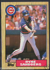 Topps 1987 Baseball Card - No 680 - Ryne Sandberg - Cubs