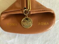 Coin Purse Rome Italian leather Snap closure. Great Gift.  New Free shipping