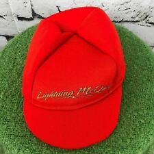 Lightning McQueen Disney Pixar Cars Unisex Child's O/S Hat Red Foam Costume Cap