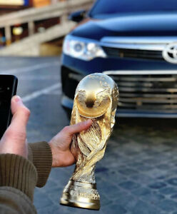 WORLD CUP GOLDEN REPLICA TROPHY FOOTBALL