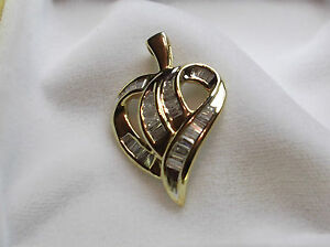 BAGUETTE   DIAMOND   HEART   for THE LOVE OF YOUR LIFE- FREE SHIPPING