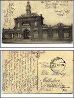 1917 Feldpostkarte Feldpost 1. Weltkrieg CAMBRAI Chambre de Commerce alte AK