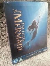 Walt Disney LITTLE MERMAID Blu-Ray Zavvi U.K. Exclusive Ltd Ed STEELBOOK OOP