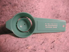THE ROCKINGHAM NATIONAL BANK VIRGINIA old vintage promo advertising egg spoon