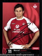 Marcel Ziemer 1.FC Kaiserlautern 2008-09 TOP AK +A49703