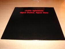 """JULIO IGLESIAS - AGUA DULCE !! RARE MAXI 45 TOURS / EURO PROMO 12"""""""