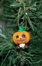 Jack O'Lantern Pumpkin Halloween Mini Christmas Ornament