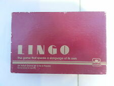 Lingo / Adult Party Slang Game / 1985 / Partially Sealed Contents