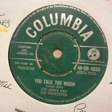 "Joe Jones & Orchestra(7"" Vinyl)You Talk Too Much / I Love You Still-Col-Ex/VG"