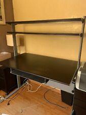 Trois hauteurs différentes bureau avec étagère påhl 96x58 cm disponible en 4 couleurs