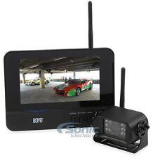 "BOYO Vision VTC700R Digital Wireless Rearview Backup Camera System w/ 7"" Screen"