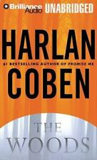 The Woods [Audio] by Harlan Coben EX LIB CD AUDIO BOOK FREE SHIPPING