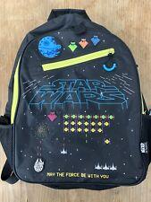 Star Wars Disney Store Brand Bookbag **Cool Retro Gaming Design!**